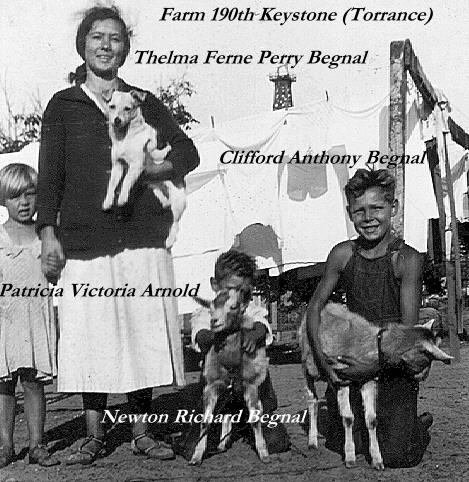 Patricia Arnold, Thelma, Richard & Clifford Young
